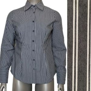 New York & Co Striped Button Down
